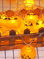 Недорогие -2,5м Гирлянды 20 светодиоды Желтый Декоративная Аккумуляторы AA 1 комплект