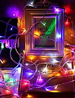 Недорогие -10 м Гирлянды 100 светодиоды Разные цвета Декоративная 220-240 V 1 комплект