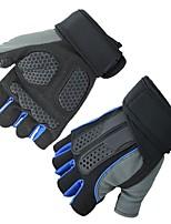Недорогие -Half-палец Все Мотоцикл перчатки Волокно Дышащий / Non Slip