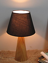 Недорогие -Традиционный / классический Декоративная Настольная лампа Назначение Спальня Дерево / бамбук 220-240Вольт