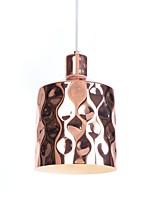 baratos -Luzes Pingente Luz Descendente Galvanizar Metal Criativo, Ajustável 110-120V / 220-240V