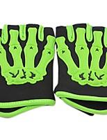 Недорогие -Half-палец Все Мотоцикл перчатки Плетеные изделия / Лайкра / Волокно Защитный / Non Slip