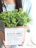 abordables -Fleurs artificielles 1 Une succursale Classique / Simple Elégant / style pastoral Plantes Fleur de Table