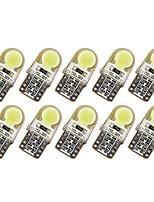 abordables -10pcs T10 Automatique Ampoules électriques 1 W COB 50-100 lm 6 LED Clignotants Pour General Motors Universel