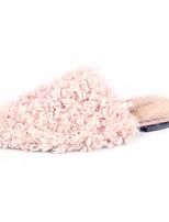 Недорогие -Жен. Искусственный мех Весна & осень / Зима На каждый день Тапочки и Шлепанцы На плоской подошве Круглый носок Черный / Розовый / Хаки
