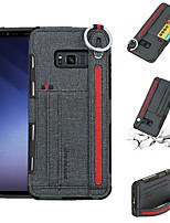 Недорогие -Кейс для Назначение SSamsung Galaxy S8 Plus / S8 Бумажник для карт / Защита от удара Кейс на заднюю панель Однотонный Мягкий ТПУ для S8 Plus / S8