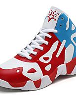 Недорогие -Девочки Обувь Синтетика Весна & осень Удобная обувь Спортивная обувь Для баскетбола Шнуровка для Дети / Для подростков Черный / Красный / Темно-зеленый