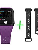 baratos -KUPENG A88Plus Relógio inteligente Android iOS Bluetooth Smart Impermeável Monitor de Batimento Cardíaco Medição de Pressão Sanguínea Tela de toque Podômetro Aviso de Chamada Monitor de Atividade