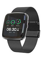 baratos -BoZhuo T2 PRO Pulseira inteligente Android iOS Bluetooth Esportivo Impermeável Monitor de Batimento Cardíaco Medição de Pressão Sanguínea Tela de toque Podômetro Aviso de Chamada Monitor de Sono