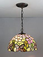 Недорогие -Подвесные лампы Рассеянное освещение Окрашенные отделки Стекло Стекло Несколько цветов, Творчество 110-120Вольт / 220-240Вольт