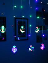 abordables -2,5 m Guirlandes Lumineuses 108 LED Plusieurs Couleurs Décorative 220-240 V 1 set