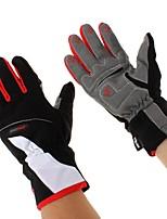 Недорогие -Полныйпалец Все Мотоцикл перчатки Лайкра / силикагель Дышащий / Защитный / Non Slip