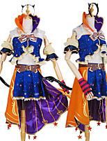 abordables -Inspiré par Aime la vie Cosplay Manga Costumes de Cosplay Costumes Cosplay Créatif / Bloc de Couleur Chemise / Haut / Ceinture Pour Homme / Femme