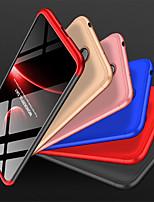 Недорогие -Кейс для Назначение Nokia Nokia X6 Защита от удара / Матовое Кейс на заднюю панель Однотонный Твердый ПК для Nokia X6