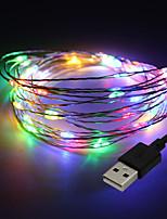 Недорогие -brelong 100led наружный водонепроницаемый USB медный свет 1 шт.