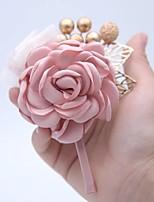 Недорогие -Жен. несовместимый Броши - Брошь Бижутерия Винный / Светло-Розовый Назначение Свадьба / Официальные