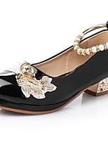 Недорогие -Девочки Обувь Полиуретан Весна / Осень Удобная обувь Обувь на каблуках для Дети (1-4 лет) Белый / Черный / Розовый