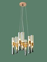 billiga -ZHISHU Sputnik Ljuskronor Glödande Elektropläterad Metall Glas Ny Design 110-120V / 220-240V