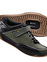 Недорогие -21Grams Обувь для велоспорта Амортизация, Пригодно для носки Велосипедный спорт / Велоспорт / Горный велосипед Черный / Военно-зеленный