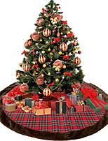 abordables -Sapins de Noël / Décorations de Noël Noël / Arbre de Noël Tissu arbre de Noël / Circulaire Nouveautés Décoration de Noël