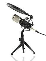 Недорогие -KEBTYVOR BM-800 Поликарбонат / Проводное Микрофон Микрофон Конденсаторный микрофон Ручной микрофон Назначение Компьютерный микрофон