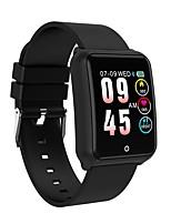 abordables -Indear M39 Bracelet à puce Android iOS Bluetooth Sportif Imperméable Moniteur de Fréquence Cardiaque Mesure de la pression sanguine Ecran Tactile Podomètre Rappel d'Appel Moniteur d'Activité Moniteur