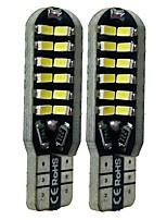 Недорогие -SENCART 2pcs T10 Автомобиль Лампы 6 W SMD 3014 360 lm 48 Светодиодная лампа Внутреннее освещение Назначение Дженерал Моторс Все года
