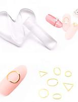 Недорогие -1 pcs Инструменты для ногтей DIY Инструмент для штамповки ногтей шаблон Мультипликационные серии Специальный дизайн / Новый дизайн / Эргономический дизайн маникюр Маникюр педикюр
