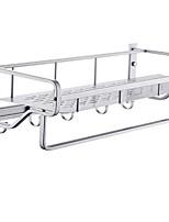 Недорогие -Полка для ванной Новый дизайн / Cool Современный Алюминий 1шт Двуспальный комплект (Ш 200 x Д 200 см) На стену