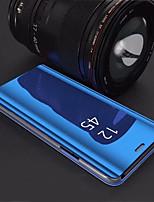 baratos -Capinha Para Samsung Galaxy S9 Plus / S8 Plus Com Suporte / Galvanizado / Espelho Capa traseira Sólido Rígida Acrílico para S9 / S9 Plus / S8 Plus