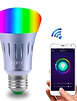 Недорогие -smart wifi bulb rgbw app control dimmable e27 / e26 светодиодная лампа работает с alexa google home 16 миллионов цветов ac 85-265v