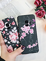 abordables -Coque Pour Samsung Galaxy S9 Plus / S8 Plus Motif Coque Fleur Dur PC pour S9 / S9 Plus / S8 Plus