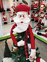 Недорогие -Рождество Новогодняя ёлка Нетканый материал Круглый Рождественские украшения