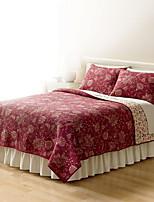 Недорогие -удобный - 1 одеяло / 2шт Подушки (только 1шт подушка для Одноместные или двухместные) Все сезоны Хлопок Однотонный