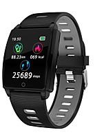 abordables -Indear R17 Bracelet à puce Android iOS Bluetooth Sportif Imperméable Moniteur de Fréquence Cardiaque Mesure de la pression sanguine Ecran Tactile Podomètre Rappel d'Appel Moniteur d'Activité Moniteur