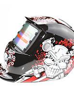 Недорогие -солнечная автоматическая потемнение сварочный шлем 107 гайка