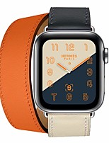 Недорогие -Ремешок для часов для Apple Watch Series 4/3/2/1 Apple Кожаный ремешок Кожа / Натуральная кожа Повязка на запястье