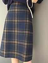 Недорогие -женские юбки-юбки для мужчин - плед
