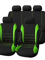 Недорогие -Чехлы на автокресла Чехлы для сидений Красный / Зеленый / Синий Ткань Деловые / Общий Назначение Универсальный Универсальный Универсальный