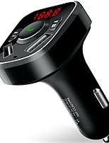 abordables -X81 Kit Bluetooth Voiture Mains libres de voiture Bluetooth / Sorties Multiples / Car MP3 FM Modulator Automatique