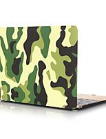 """Недорогие -MacBook Кейс Камуфляж ПВХ для MacBook Pro, 13 дюймов / Новый MacBook Pro 13"""" / New MacBook Air 13"""" 2018"""