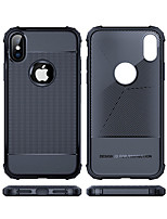 abordables -Coque Pour Apple iPhone XS / iPhone XS Max Antichoc Coque Couleur Pleine Flexible TPU pour iPhone XS / iPhone XR / iPhone XS Max