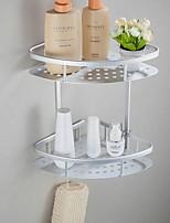 Недорогие -Полка для ванной Многослойный / Креатив Современный Нержавеющая сталь 1шт На стену
