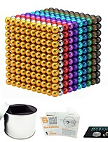 Недорогие -1000 pcs 5mm Магнитные игрушки Магнитные шарики Магнитные игрушки Сильные магниты из редкоземельных металлов Магнитный / Стресс и тревога помощи