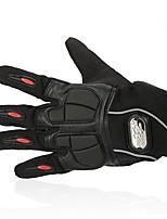 Недорогие -Полныйпалец Все Мотоцикл перчатки Лайкра / Сетчатый материал Дышащий / Сохраняет тепло / Non Slip