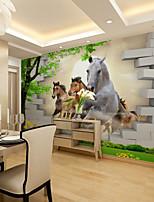 billiga -tapet / Väggmålning Duk Tapetsering - lim behövs Konst Dekor / Mönster / 3D