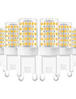 Недорогие -YWXLIGHT® 6шт 10 W 600-800 lm G9 Двухштырьковые LED лампы T 86 Светодиодные бусины SMD 2835 Тёплый белый / Холодный белый / Естественный белый 220-240 V