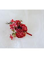 Недорогие -Жен. несовместимый Броши - Брошь Бижутерия Красный / Светло-синий / Светло-Розовый Назначение Свадьба / Официальные