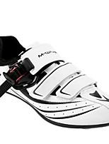 Недорогие -21Grams Взрослые Обувь для велоспорта Водонепроницаемость, Дышащий, Дожденепроницаемый Шоссейные велосипеды / Велосипеды для активного отдыха / Велосипедный спорт / Велоспорт Белый Муж.