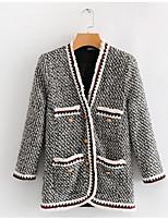 Недорогие -женская тонкая куртка - сплошной цвет